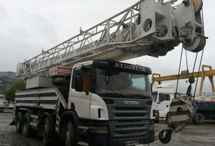 SCANIA DEMAG AC 155 / 55t